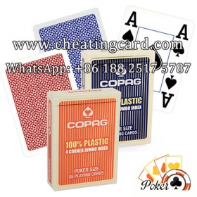Copag 4PIP Poker Cheat Marked Cards for Gambling