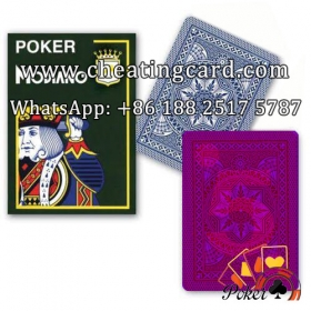 Modiano Cristallo Invisible Ink Marked Poker Cards