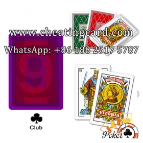 Fournier Heraclio Vitoria Invisible Poker Cards