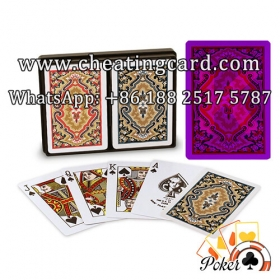 KEM Paisley Cheating Marked Playing Cards