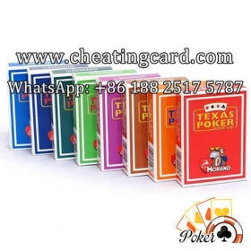 Modiano Marked Cards for Poker Cheat