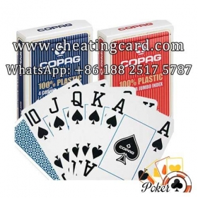 Jumbo Copag Marked Poker Cards