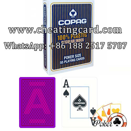 100% Plastic Copag Marked Playing Cards