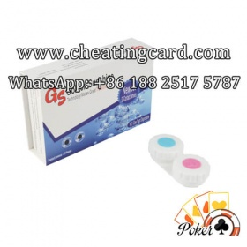 Infrared Contact Lenses for Marked Poker Cards