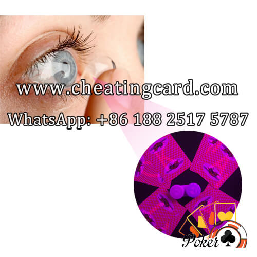 IR Contact Lenses to See Poker