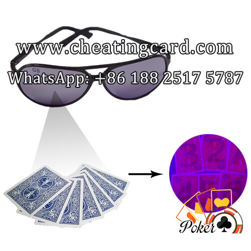 Marked Poker Cards Glasses
