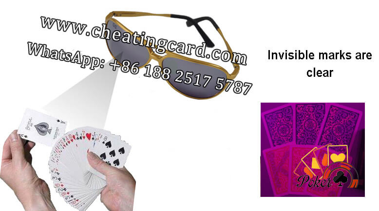 Infrared Sunglasses for Poker