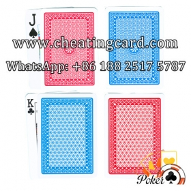 A Plus Contact Lenses Marked Playing Cards