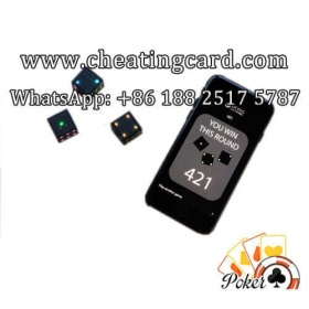 Gambling Talking Dice Cheating Device