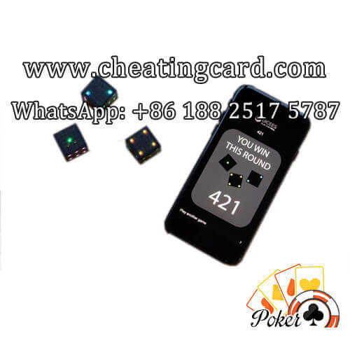 Gambling Talking Dice Cheating Device