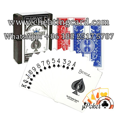 Bicycle Prestige Marked Poker Cards with Card Marking Ink