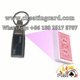 Key Chain Scanner Lens Poker Cheating Device