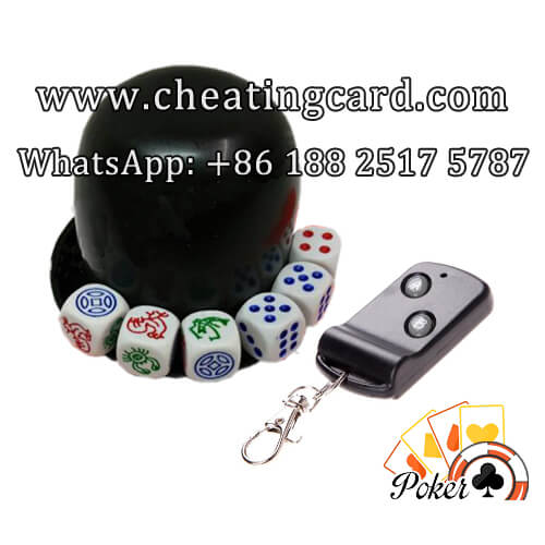 Wireless Remote Control Dice Cheating Device