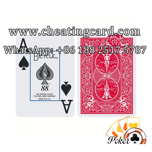 Bicycle Ultimate Marked Deck for Magic Show