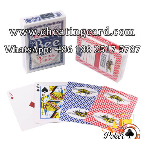 Bumble Bee Poker Cards for Invisible Reader or Analyzer