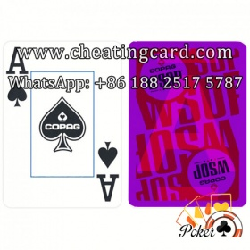 Copag WSOP Cheating Contact Lenses Cards