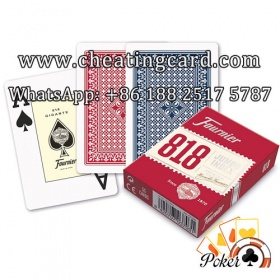 Fournier 818 Poker Cards with Scanner / Contact Lenses