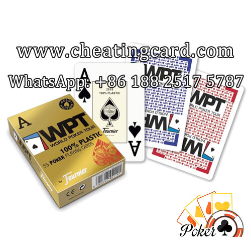 Fournier WPT Invisible Marking Cheating Playing Cards
