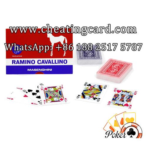 Masenghini Marked Italian Poker Cards