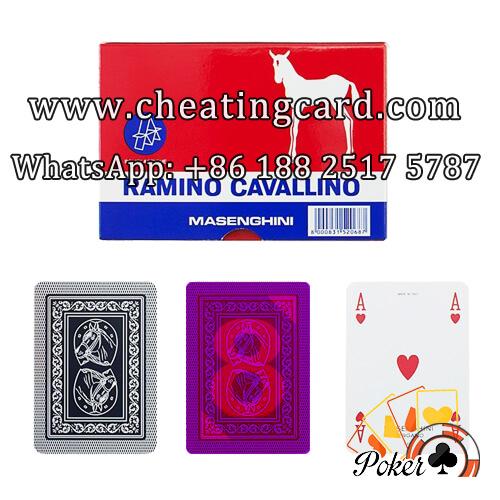 Masenghini Marked Italian Playing Cards