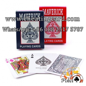 Maverick Marked Cards for Invisible Ink Cards Reader