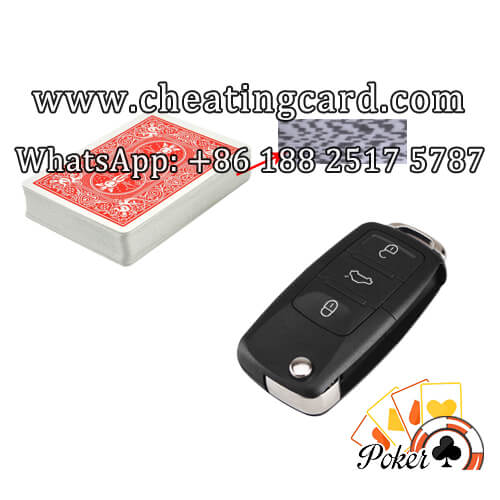 Car Key Scanner Camera Cheats at Poker Table