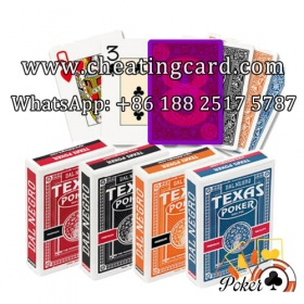 Dal Negro Texas Holdem Marked Cards for Poker Lenses