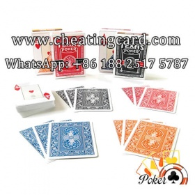 Dal Negro Texas Holdem Marked Deck for Poker Lenses