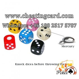 Mercury Gamble Trick Dice in All Sizes