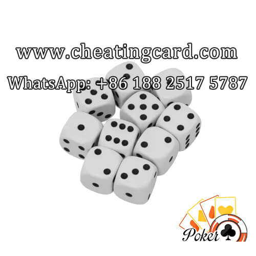 Mercury Gamble Cheat Dice in All Sizes