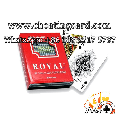 Roya Cards with Back Markings / Side Barcode