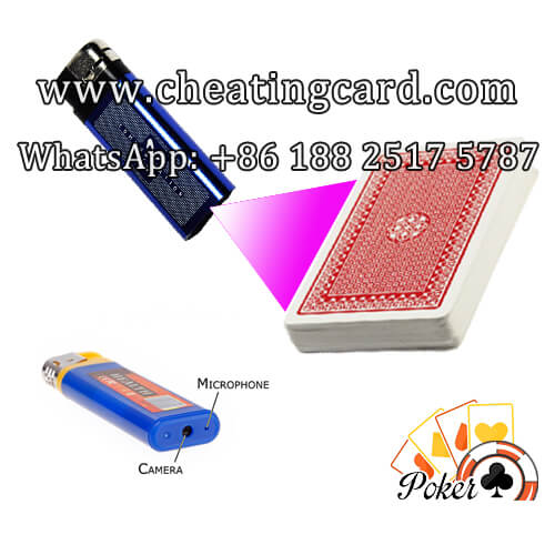 Cigarette Lighter Camera with Poker Analyzer System