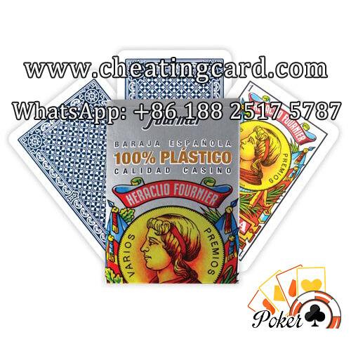 Fournier 2100 Luminous Ink Marked Poker for Gambling