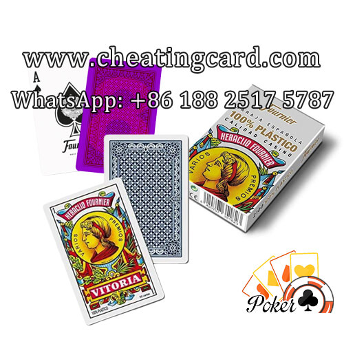 Fournier 2100 Luminous Ink Marked Cards for Gambling