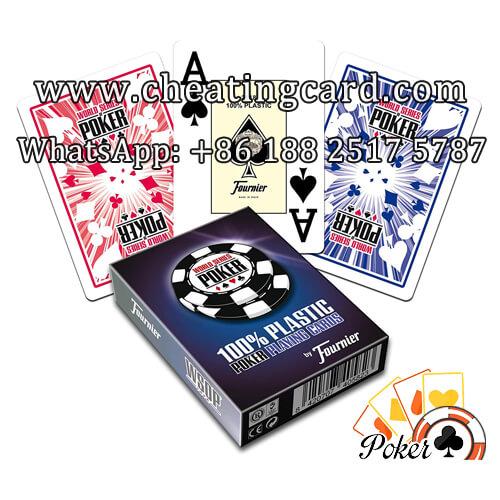 Fournier WSOP Marked Deck for Poker Reader & Scanner