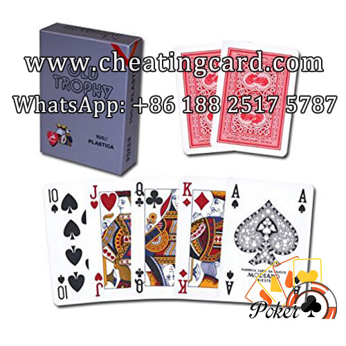 Modiano Old Trophy Cheating Marked Poker Cards