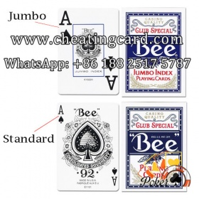 Bee Standard / Jumbo Index with Invisible Ink Markings