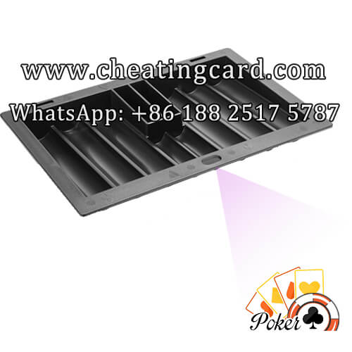 Chip Tray Barcode Marked Decks Scanning Camera