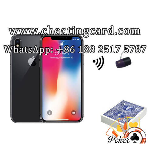 CVK 400 Iphone X Poker Hand Analyzer Scanner System
