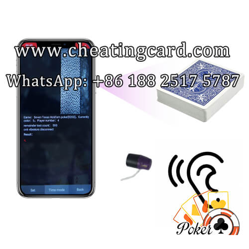 CVK 400 Iphone X Poker Hand Analyzer Scanning System