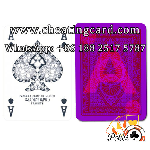 Modiano Bike Trophy Cheating Poker Cards