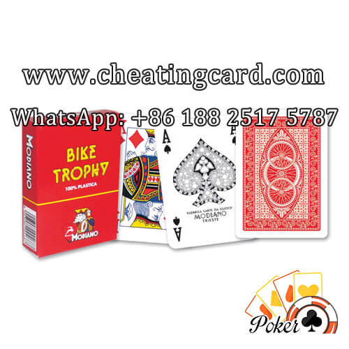 Modiano Bike Trophy Cheating Playing Cards